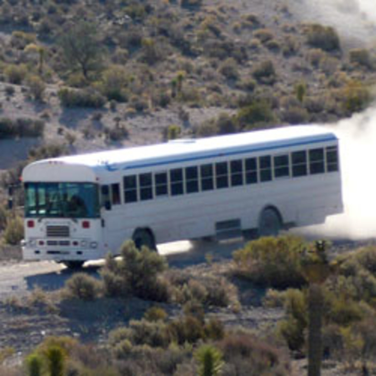 The White Bus at Area 51