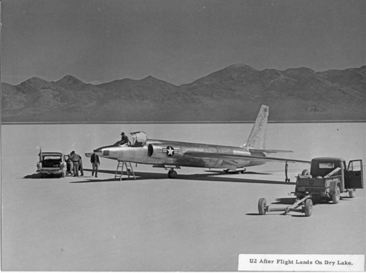 A U-2 Prototype at Groom Lake