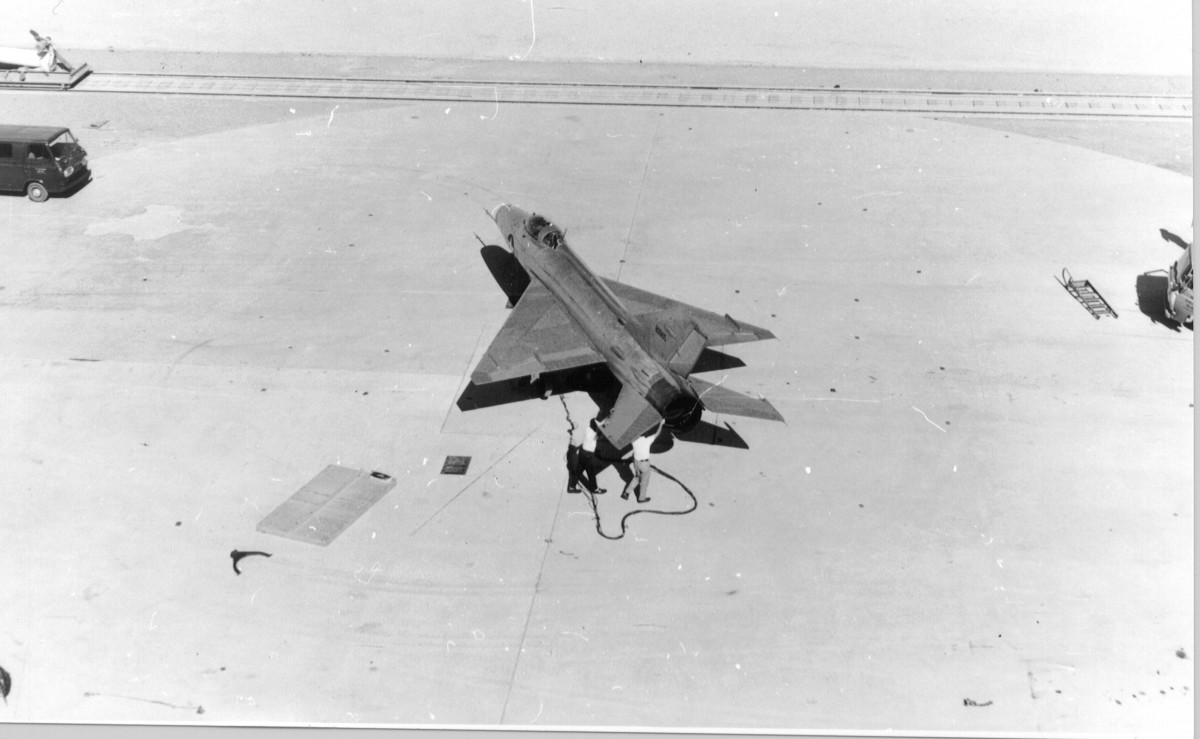 A MiG-21 part of Project HAVE DOUGHNUT