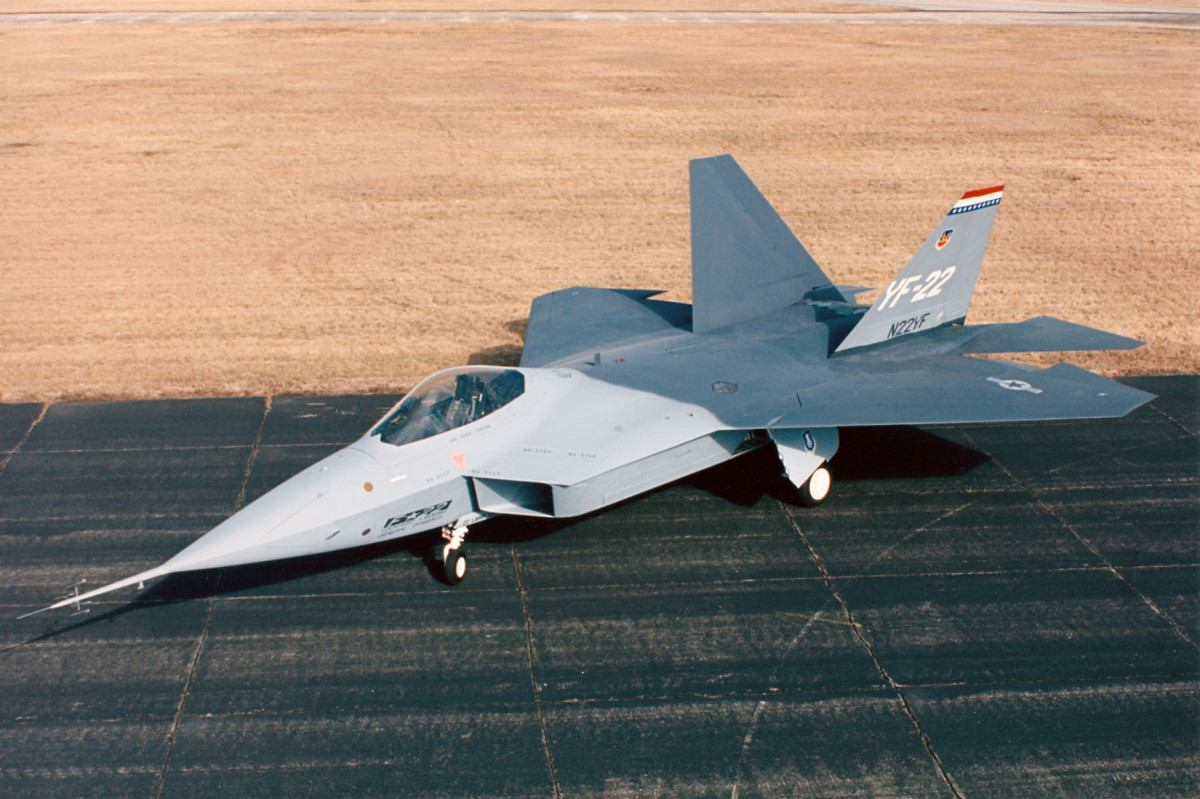 YF-22 Raptor at the National Museum of the United States Air Force