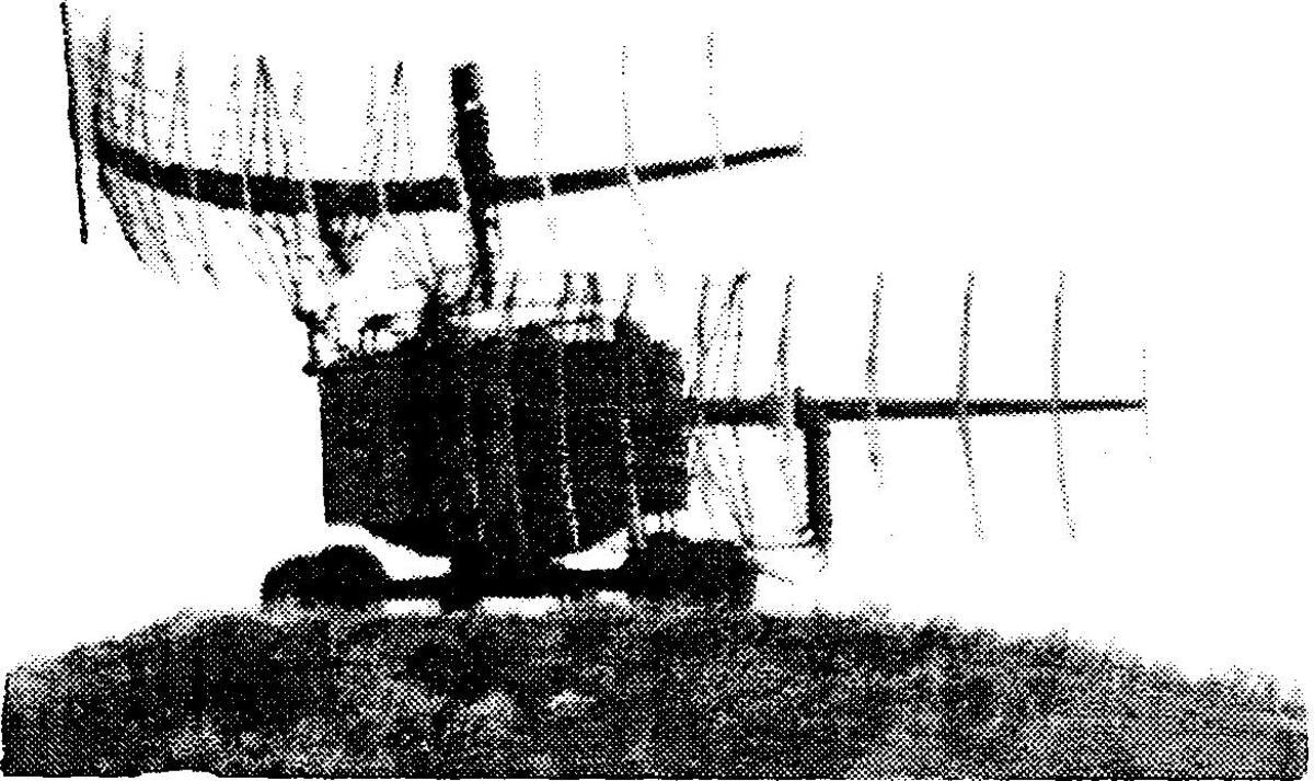 Reconnaissance photograph of a Soviet Barlock Radar