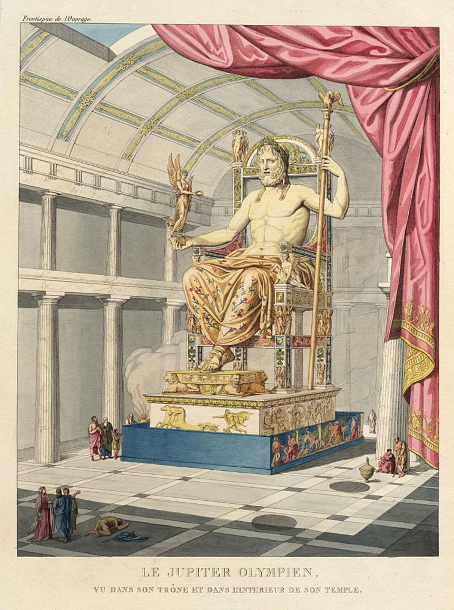 Historical Landmarks: The Statue of Zeus at Olympia