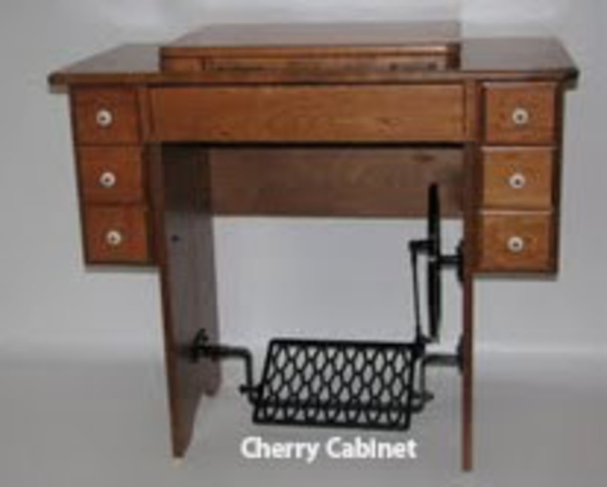 Cherry reproduction cabinet from Cottage Craft Works