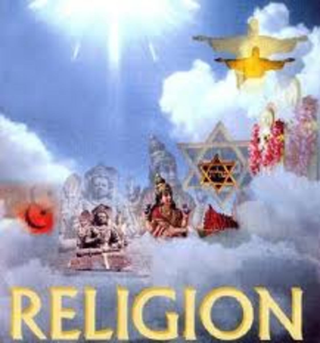 We are talking here about all religions of the world, which to us they seem to have one thing in common to control and guide mankind. to live a meaningful and happy life.