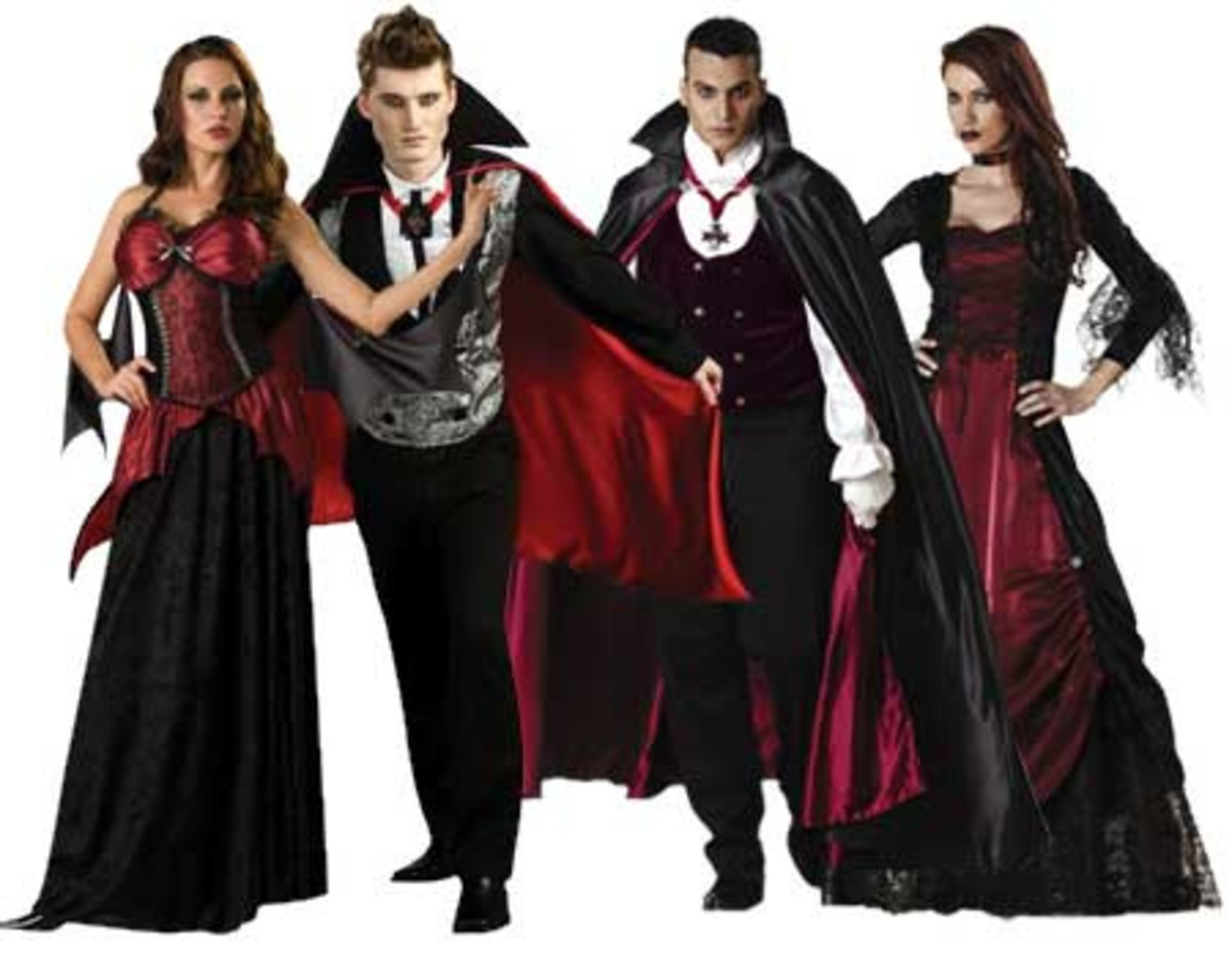 You can decide from sexy to classic vampire outfits.