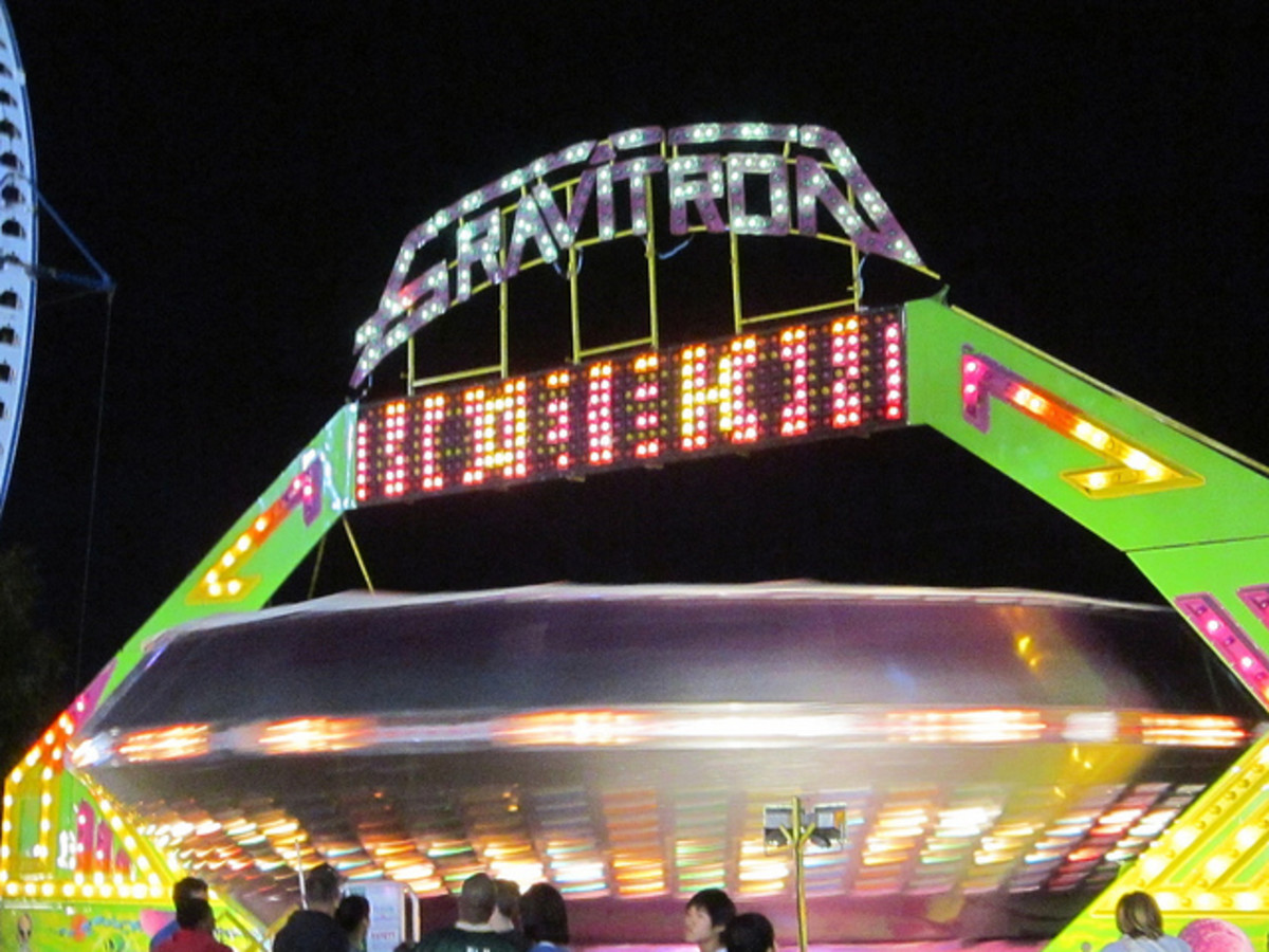 """Gravitron"", as the spaceship ride is most commonly known."