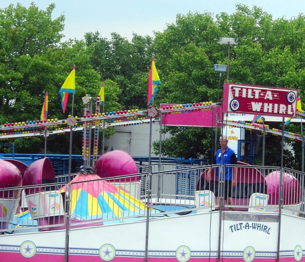 The classic Tilt-a-Whirl