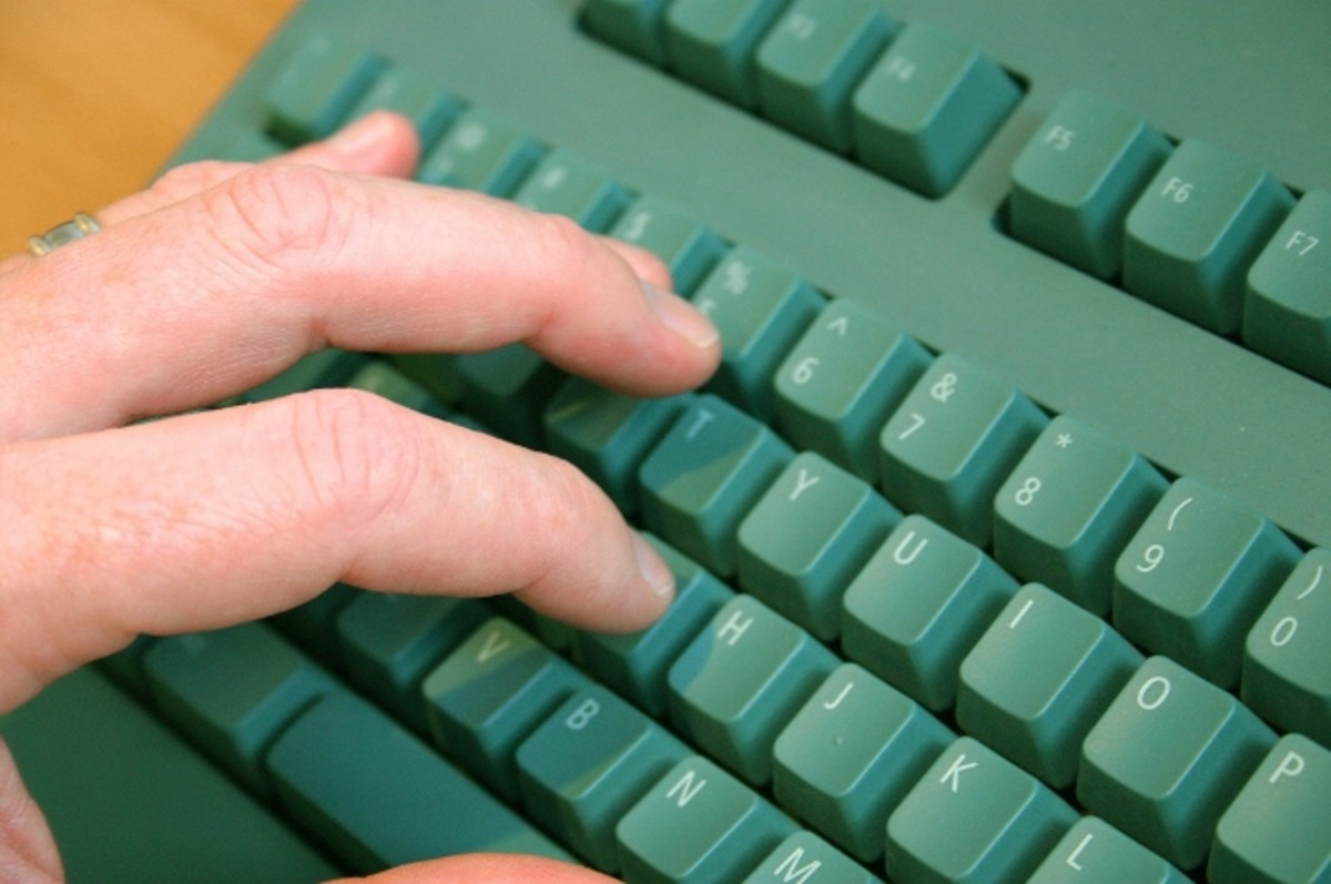 Fresh content is created at the writer's touch of a keyboard.