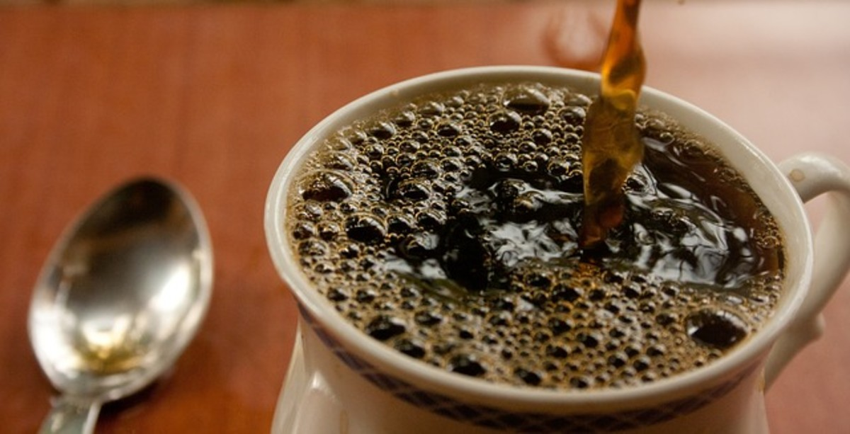 A hot cup of coffee is fuel for a lot of HubPages writers.