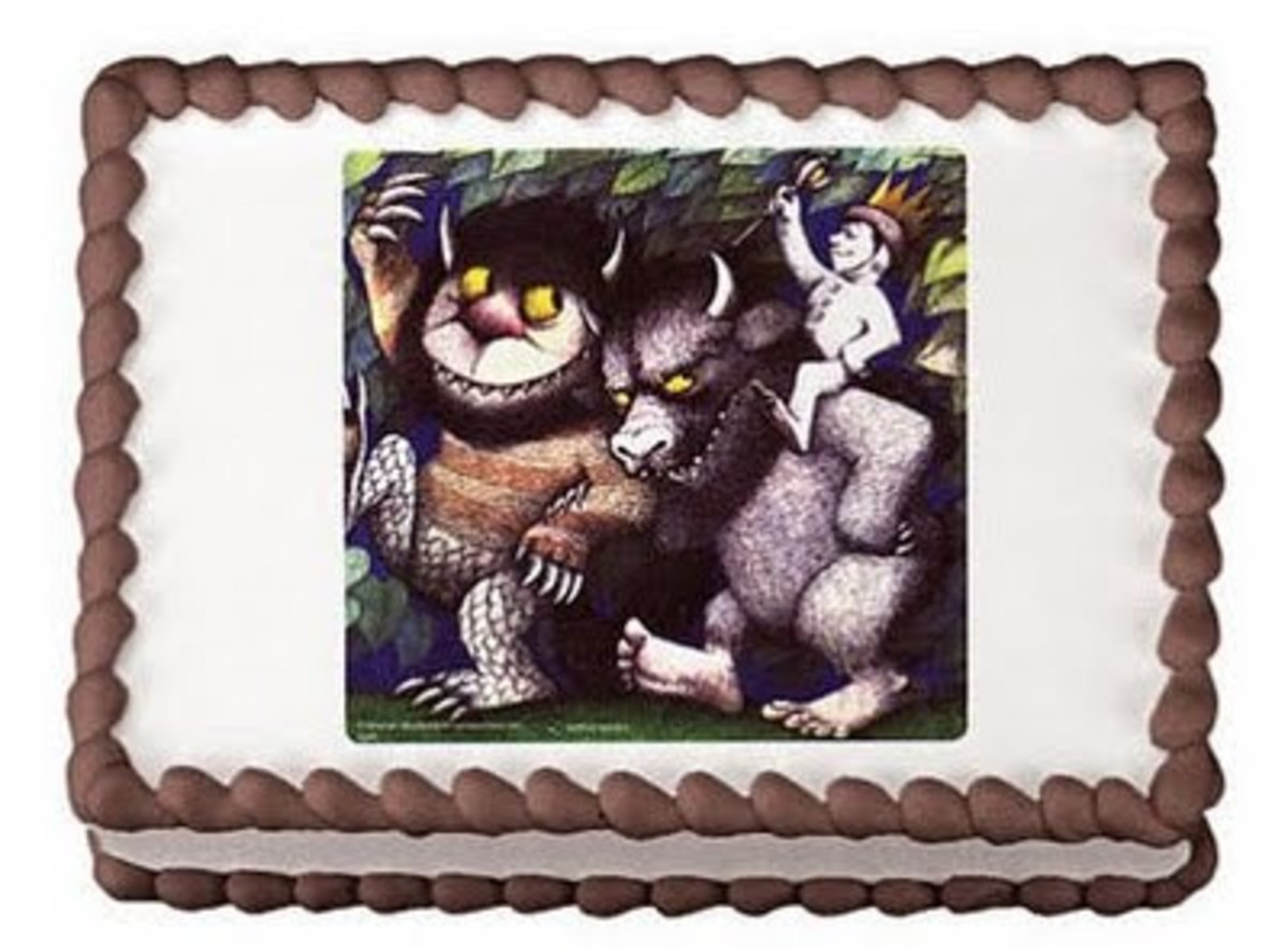 Where the wild things are edible cake topper