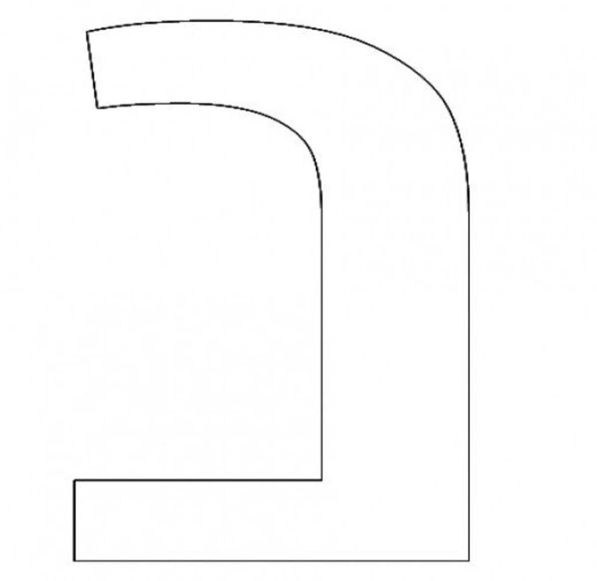 Hebrew Letter Nun Coloring Page - דף צביעה אוֹת נון