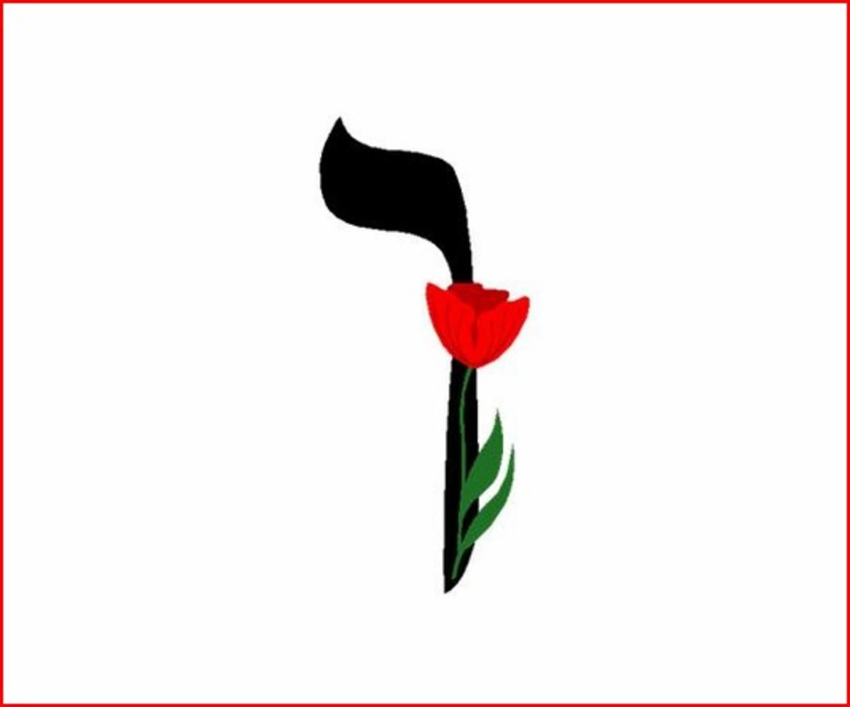 Hebrew Alphabet Letter Vav – האלפבית אוֹת וו