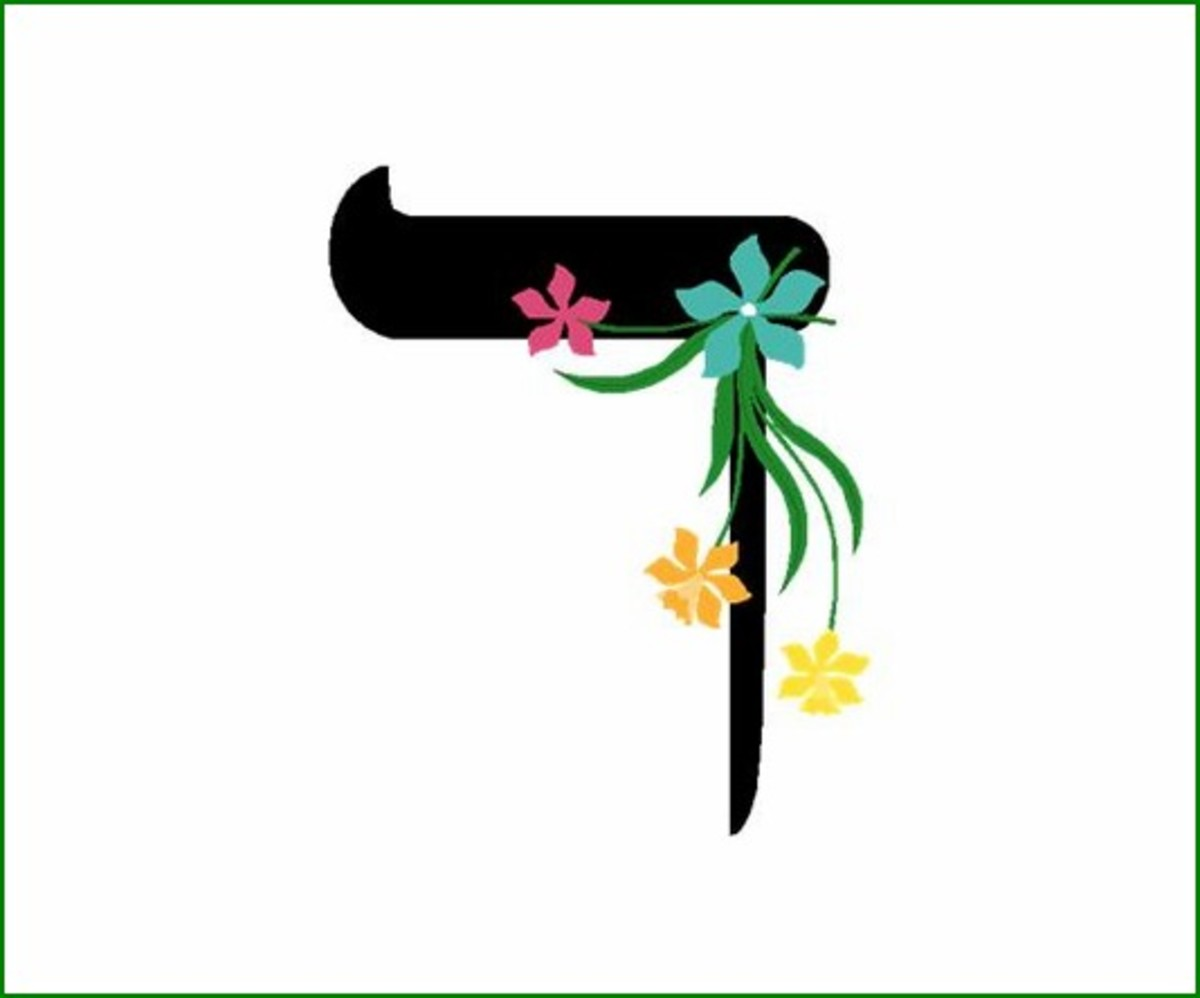 Hebrew Alphabet Letter Dalet – האלפבית אוֹת דלת
