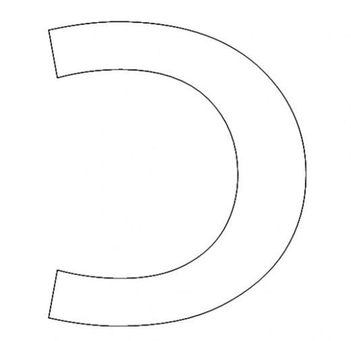 Hebrew Letter Kaf Coloring Page - דף צביעה אוֹת כף