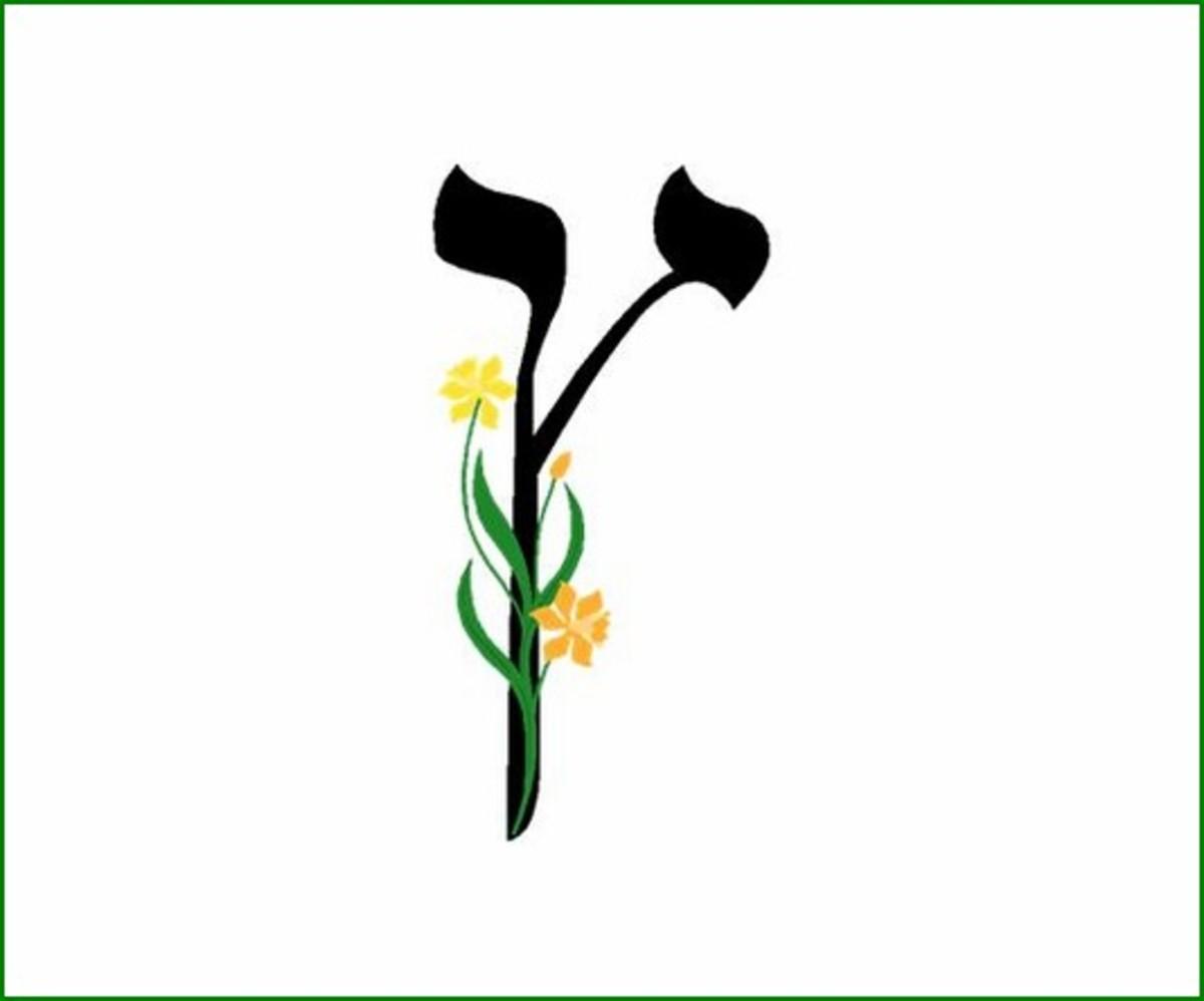 Hebrew Alphabet Letter Tzade Sofit – האלפבית אוֹת צדי סופית