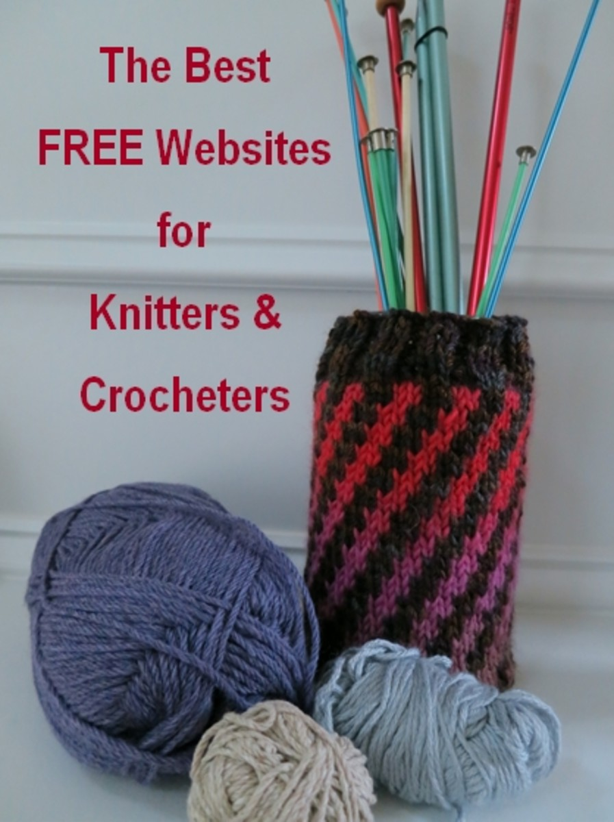 The Best FREE Websites for Knitters and Crocheters