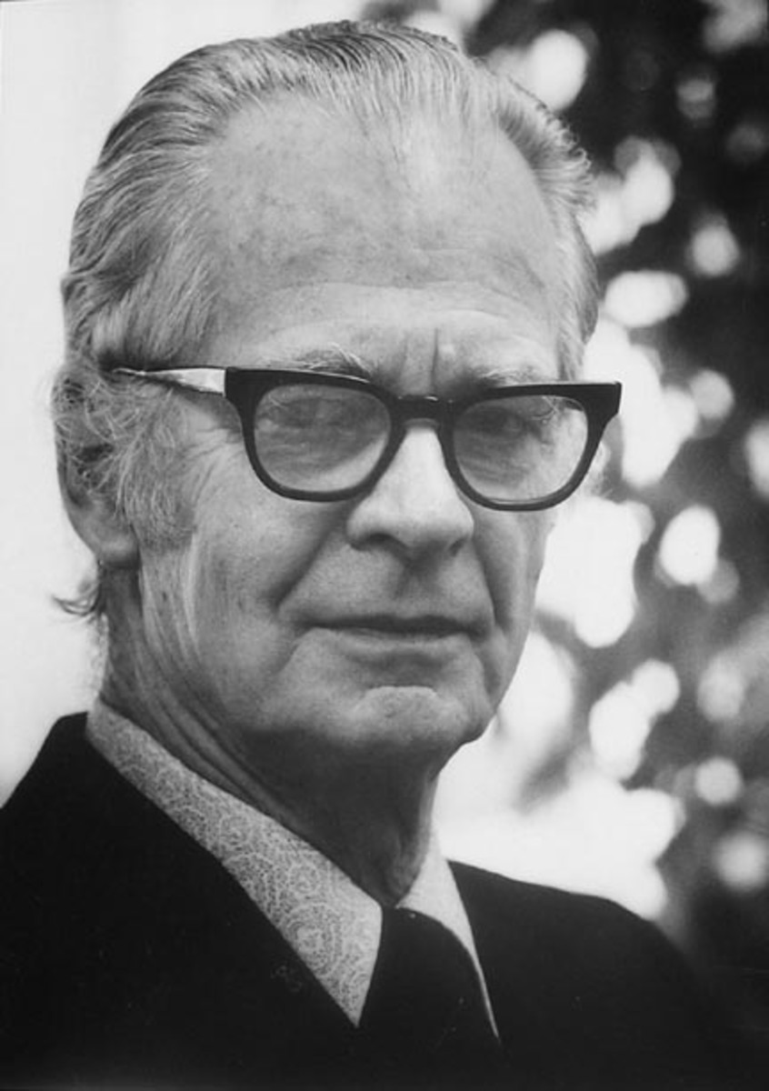 B. F. Skinner was one of the most influential of American psychologists. A radical behaviorist, he developed the theory of operant conditioning -- the idea that behavior is determined by its consequences, be they reinforcements or punishments, which