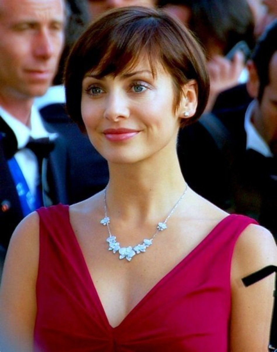 Face Shape: Natalie Imbruglia Hairstyle