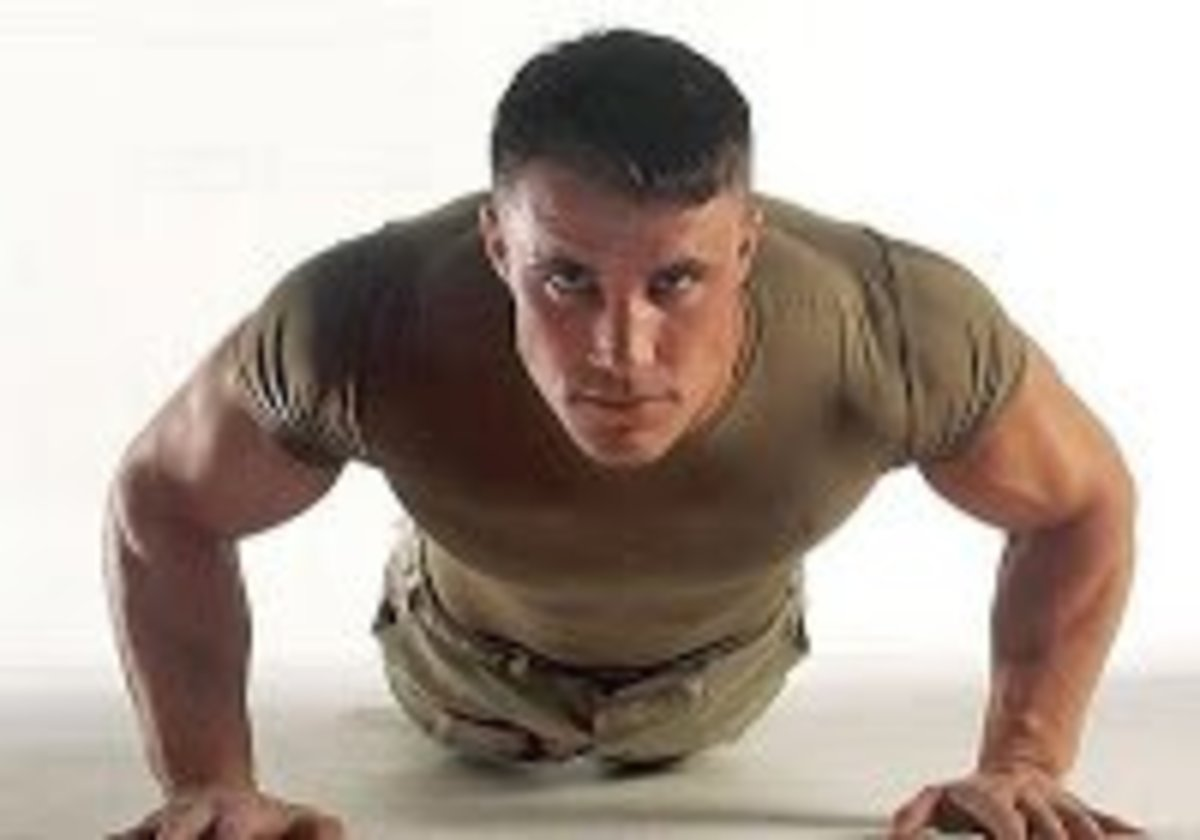 Military Style Push up