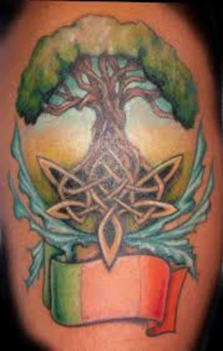 tree of life tattoo designs and ideas tree of life tattoos and meanings hubpages. Black Bedroom Furniture Sets. Home Design Ideas