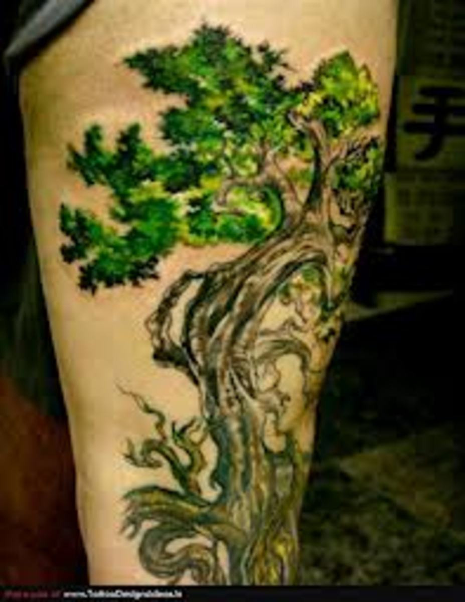 Tree Of Life Tattoo Designs And Ideas-Tree Of Life Tattoos And Meanings
