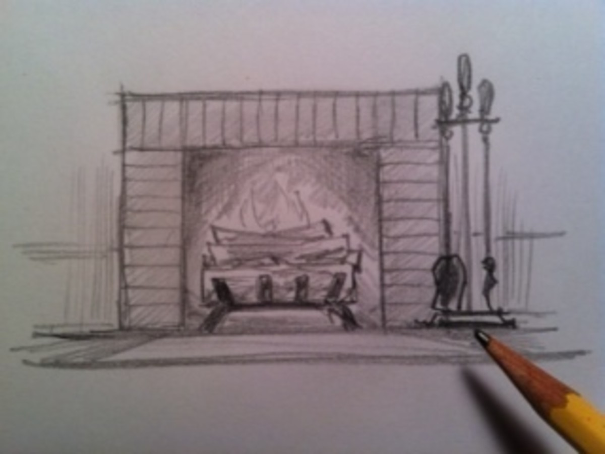 How to Draw a Fireplace | HubPages