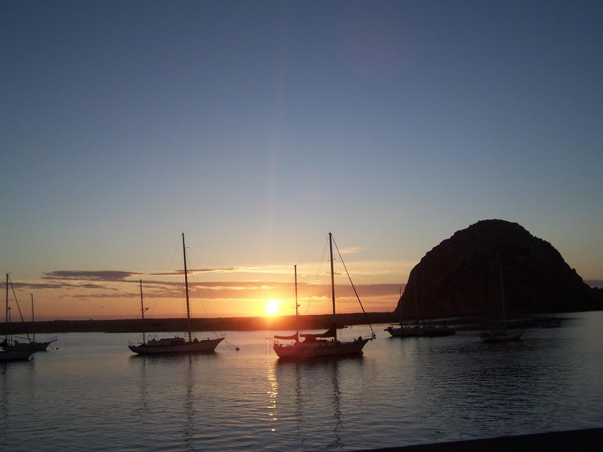 September Sunset over Morro Bay