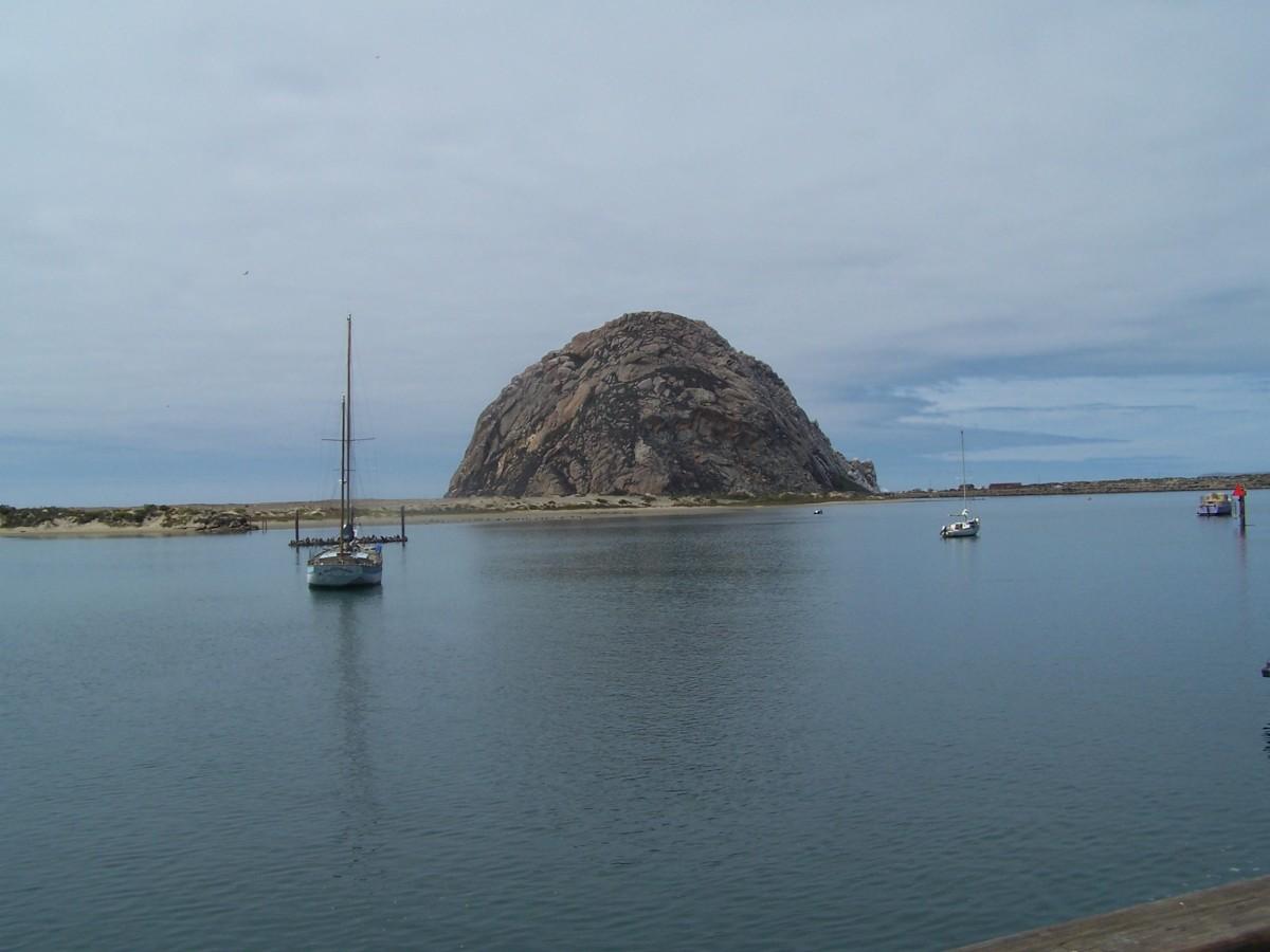 Morro Bay in the morning