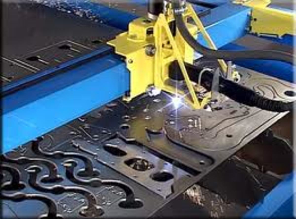 The incredible detail afforded by your CNC plasma cutter.