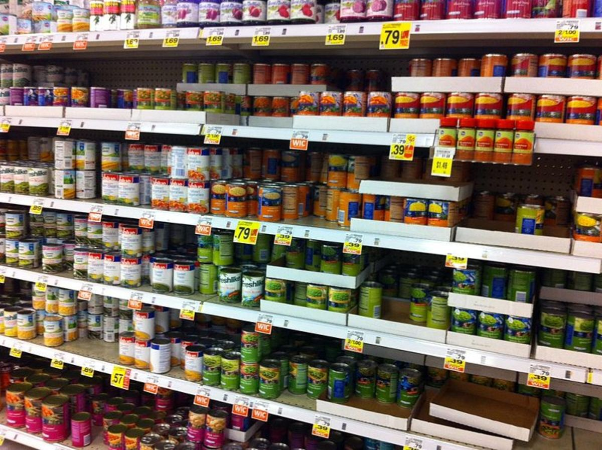 Are Dented Cans Safe For Eating?