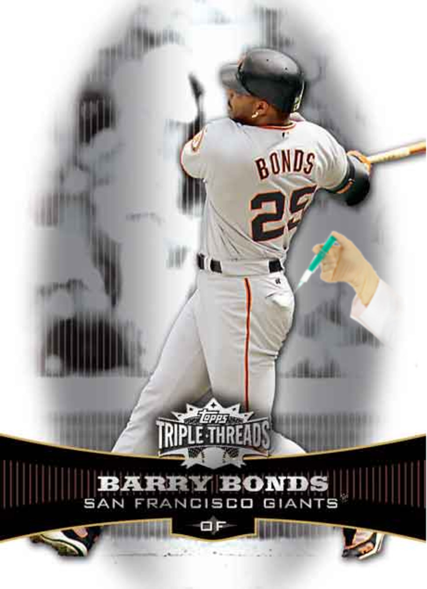 Barry Bonds always had to be careful making sudden movements as the weight of his head put him in constant danger of capsizing.