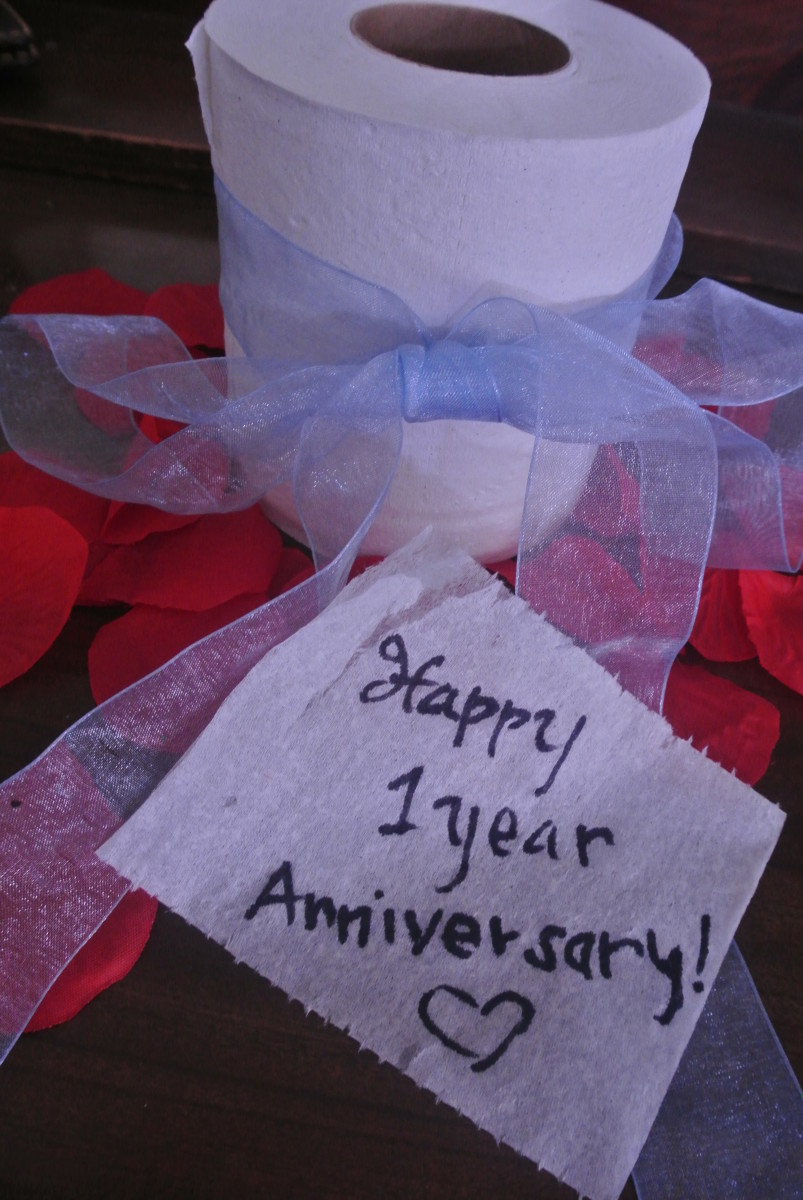 ... the Perfect First Wedding Anniversary Paper Gift Idea: Love Letters