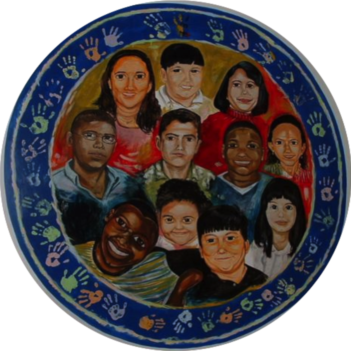 Mural at Latino Family Services in Detroit, MI