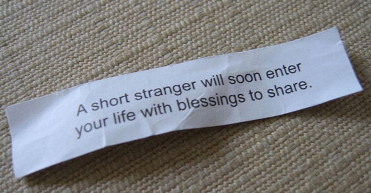 Let a short stranger into your life.