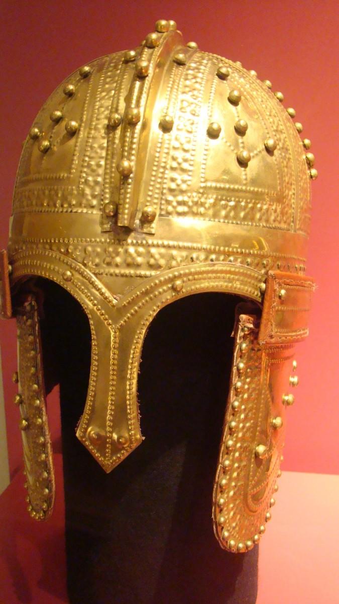 Roman army helmet