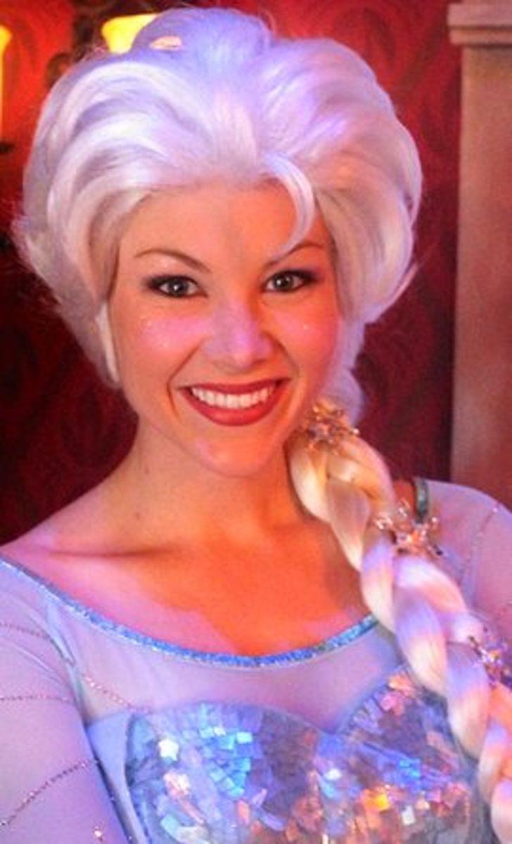 Elsa by Maddie in Disneyland