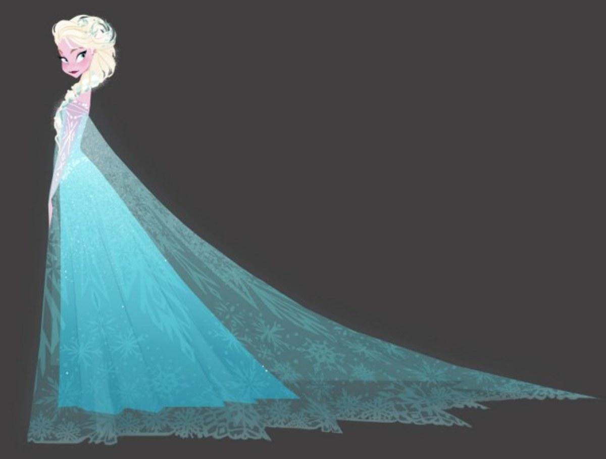 Frozen Concept Art on Facebook