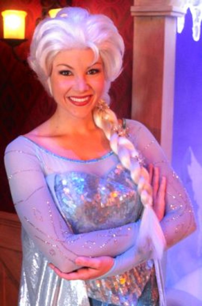 Queen Elsa from Maddy in Disneyland