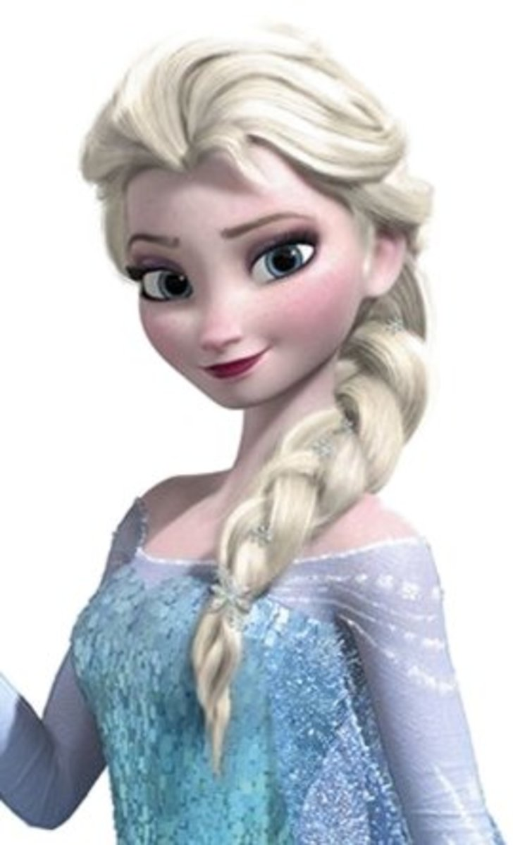 Elsa Decal available on Amazon