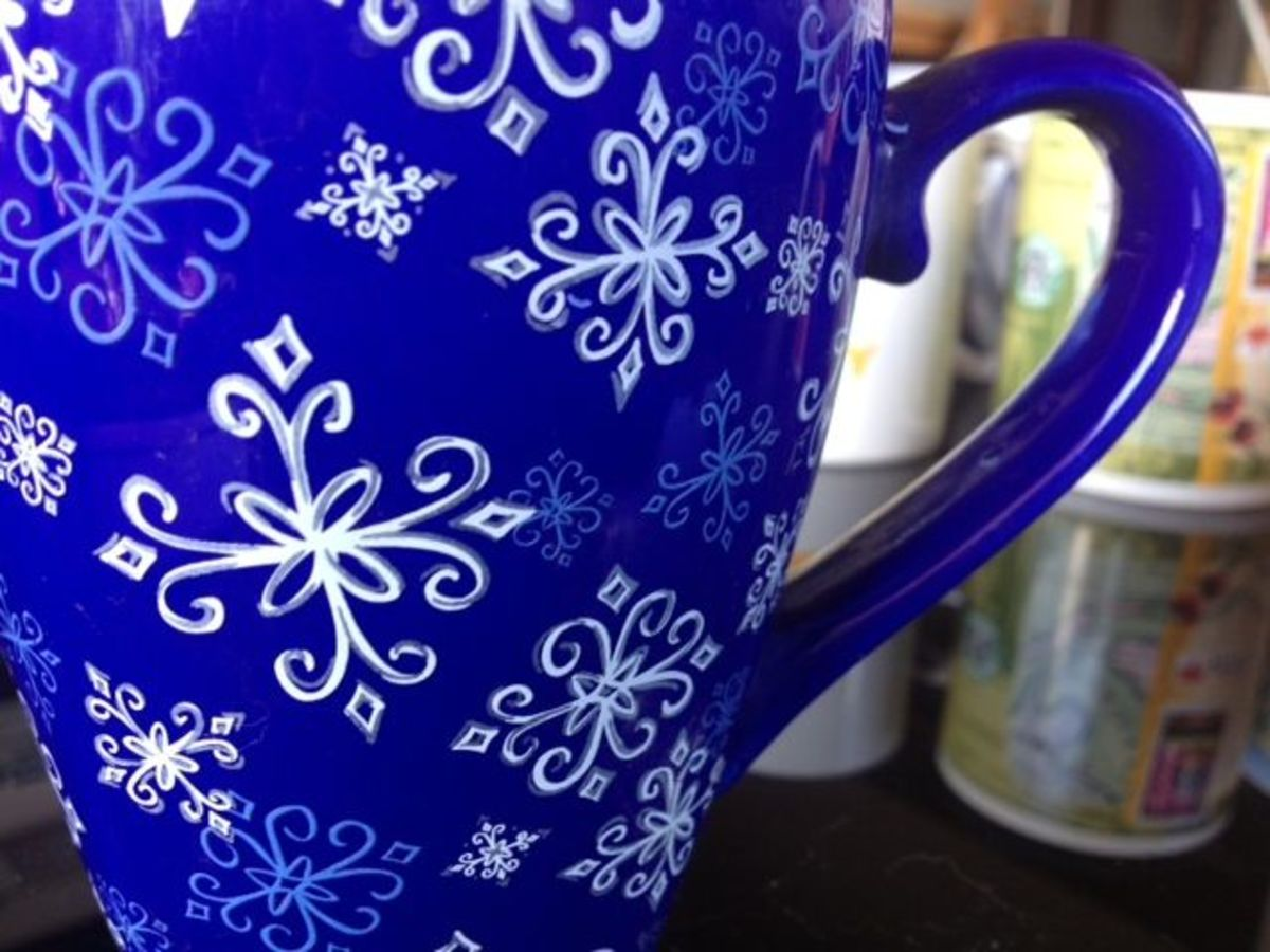 One of my favorite holiday mugs from Starbucks.