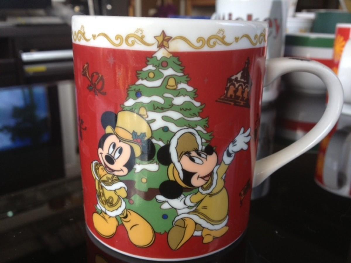 Tokyo Disneyland's Christmas Mug