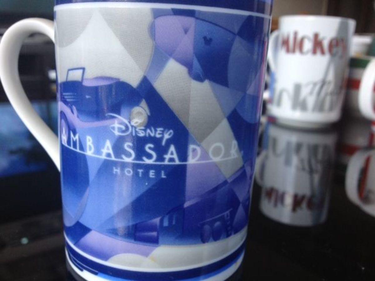 Disney Ambassador Hotel's Grand Opening Mug.