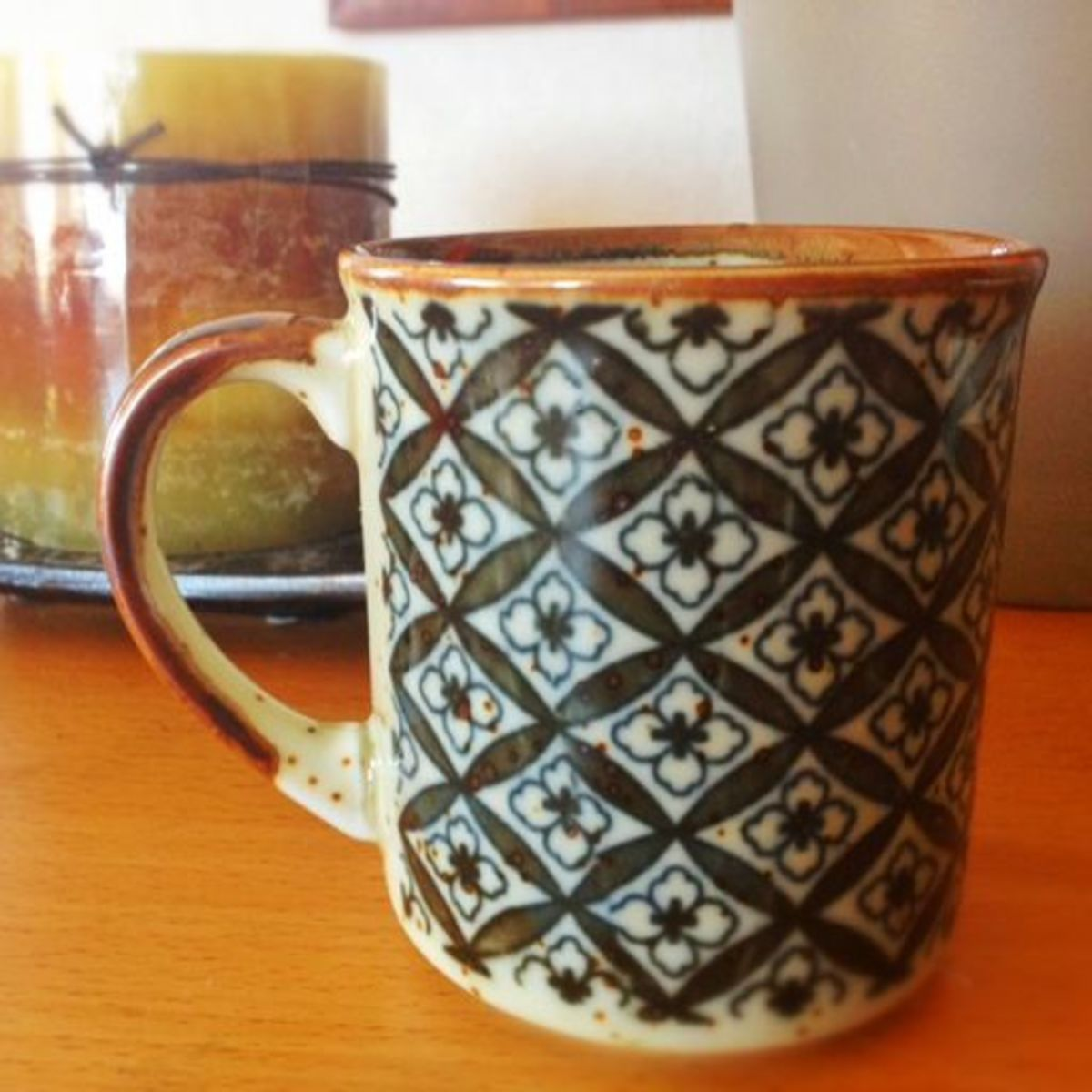 Vintage mug I found at a craft fair.