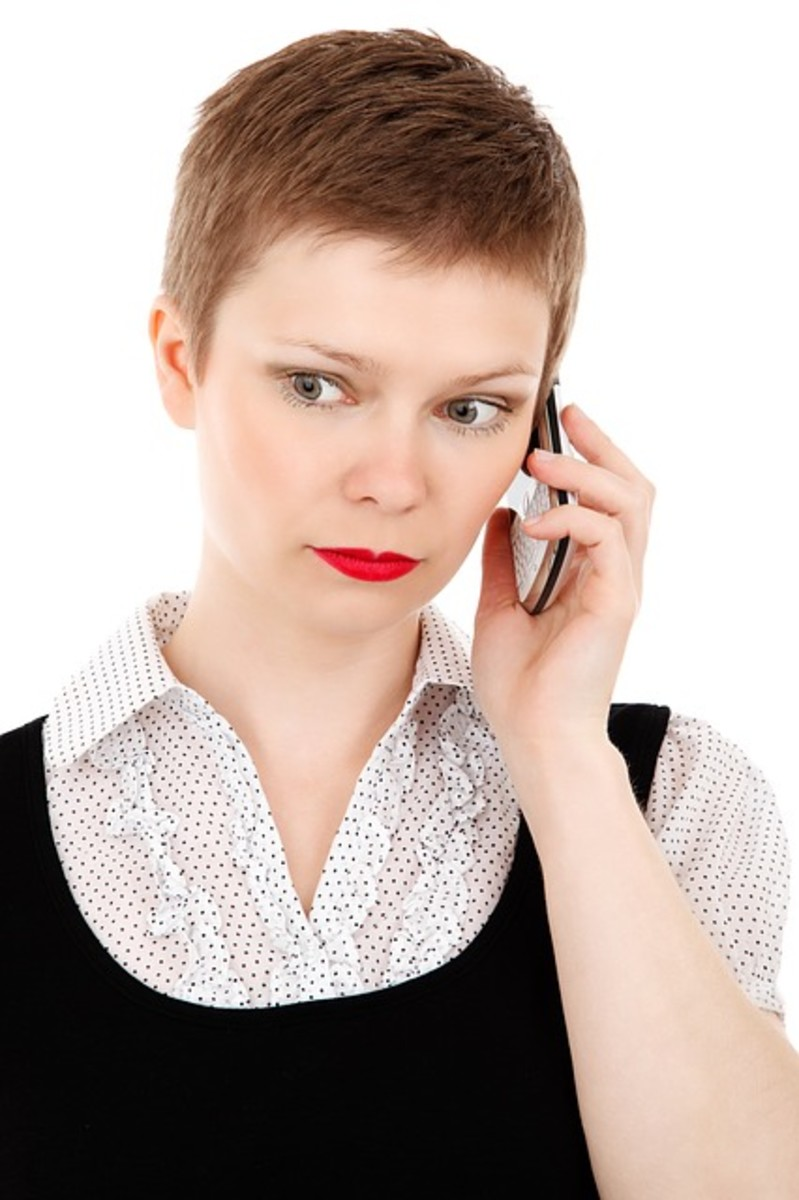 Practicing a phone call is the best way to get over the anxiety of being on an actual phone call.