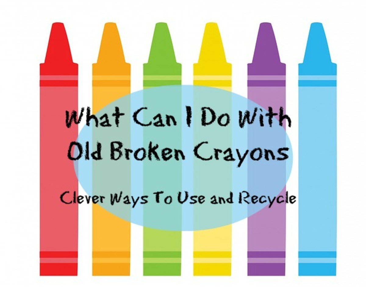 What Can I Do With Old Crayons - Clever Ways To Use and Recycle
