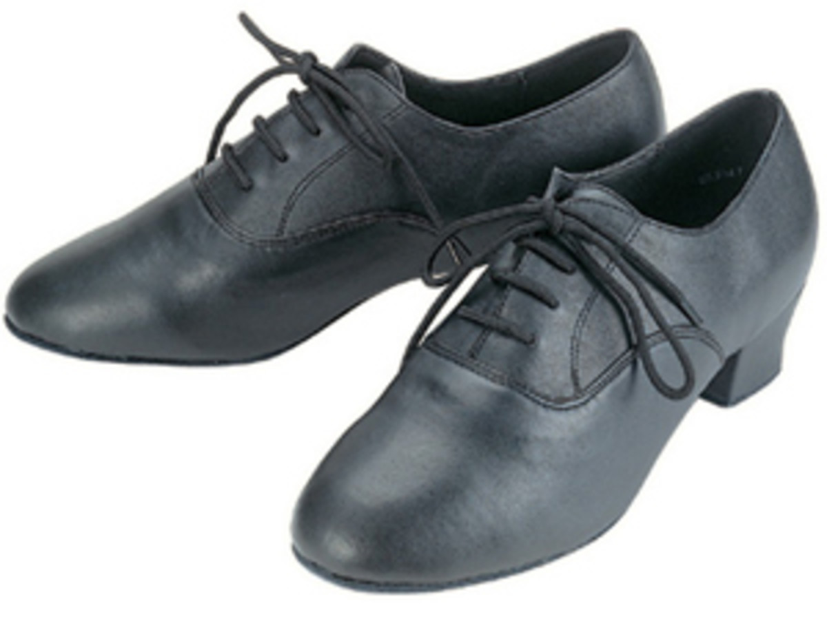 Proper/official Men's Latin Dance Shoe