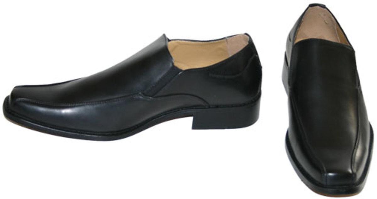 Dress shoe that is not an actual dance shoe