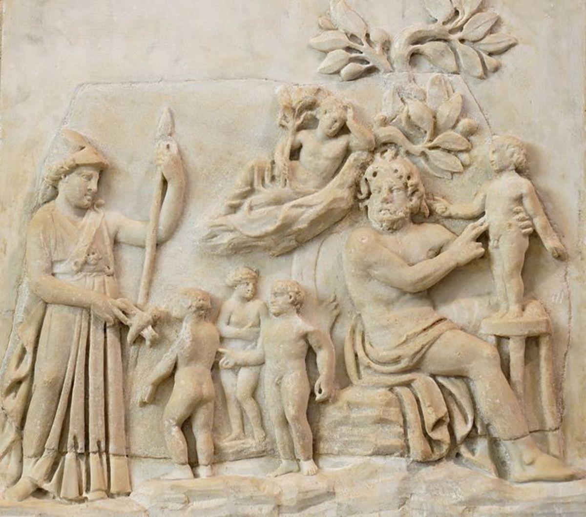 Italian marble relief, c 3rd Century CE.