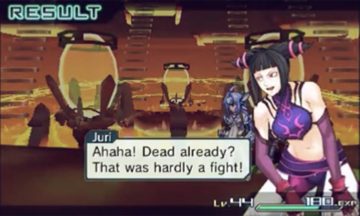 "Juri Han in ""Project X Zone"""