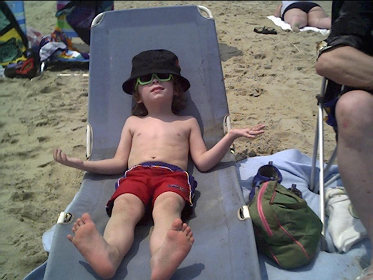 My Boy At The Beach